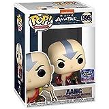 Funko POP! Animación #995 Avatar The Last Airbender - Aang (agachado) Versión metálica - Funko Hollywood Exclusive