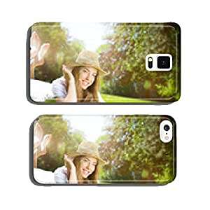 beauty on green grassland cell phone cover case iPhone5