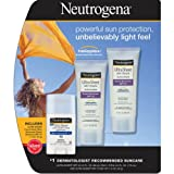 Neutrogena Ultra Sheer Dry-Touch Sunscreen, SPF 55, 3 Ounce 2PK + Ultra Sheer Face & Body Stick SPF 70 1PK ,Neutrogena-d7k6 Review