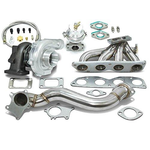Amazon.com: High Performance Upgrade T04E T3 5pc Turbo Kit - Honda Civic Si K20 FD1 FD2: Automotive