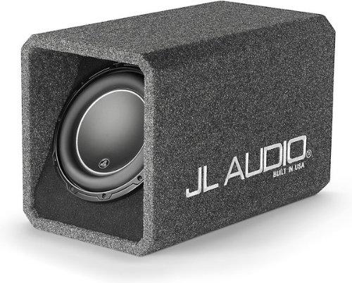 """JL Audio HO110-W6v3 Ported H.O. WedgeTM enclosure with one 10"""" W6v3 subwoofer"""