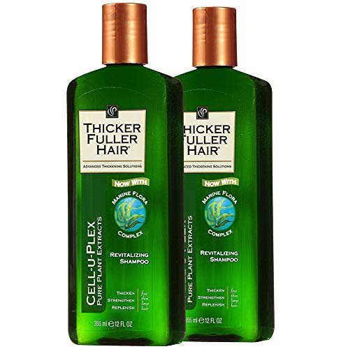 Thicker Fuller Hair Revitalizing Shampoo 12 fl oz Pack of (2) (Thicker Fuller Hair Revitalizing Shampoo)