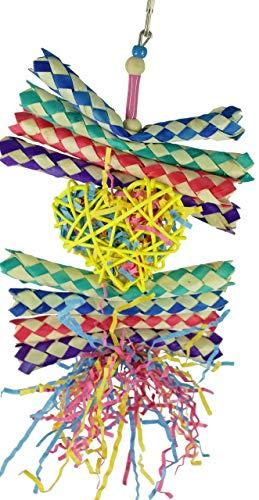 Bonka Bird Toys 1730 Hearts & Shredded Forage