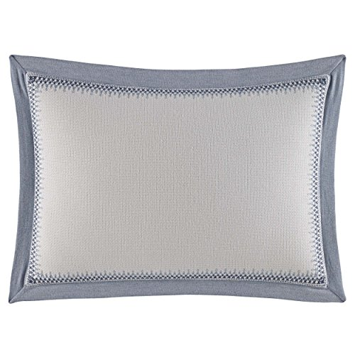 Nautica Abbott Throw Pillow, 14x20, Medium Blue