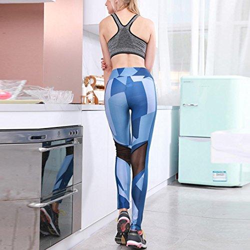 Mujer Azul ITISME Vaqueros Imperio Jeanshosen para Corte BB7Ywx