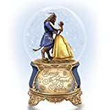 Disney Beauty and the Beast Dance in a Musical Glitter Globe by The Bradford Exchange