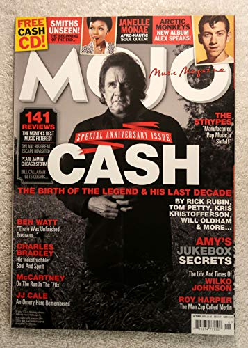 Jukebox Magazine (Johnny Cash - The Birth of The Legend & His Last Decade - Mojo Magazine - Issue #239 - October 2013 - Amy's Jukebox Secrets, Wilko Johnson, Roy Harper, Janelle Monae articles)