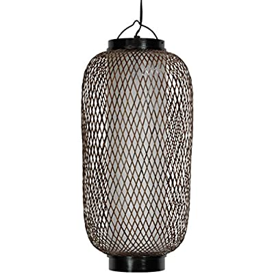 "Oriental Furniture 19"" Kirosawa Japanese Hanging Lantern"