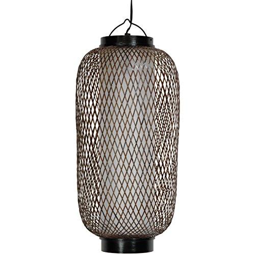 """Oriental Furniture 19"""" Kirosawa Japanese Hanging Lantern"""