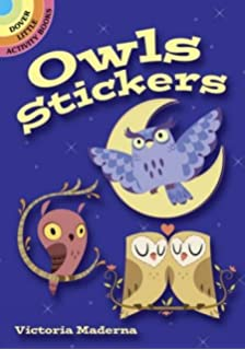 Owls (Dover Little Activity Books Stickers)
