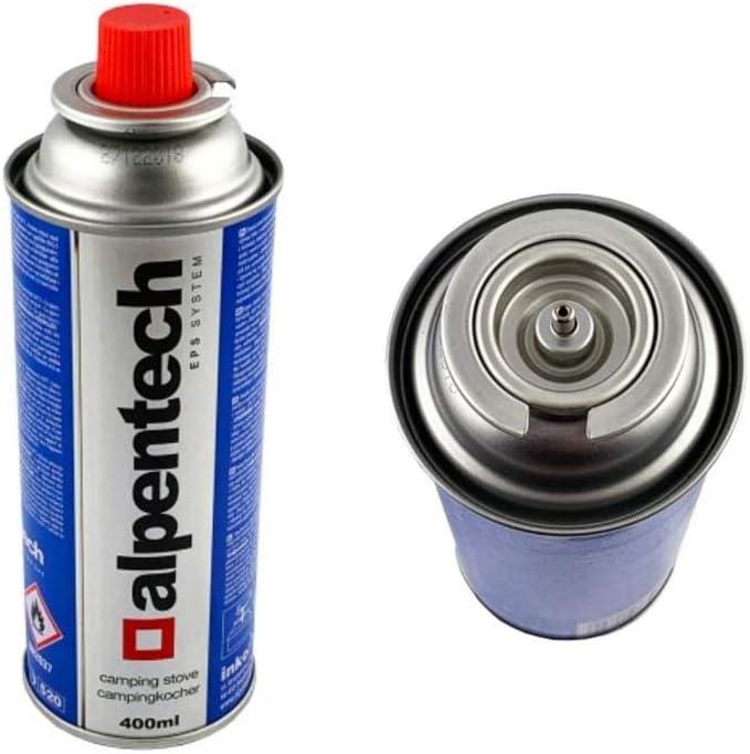 Alpentech Gaskartuschen Gasflasche UN2037 f/ür Herd und Unkrautvernichter 227 g Butan