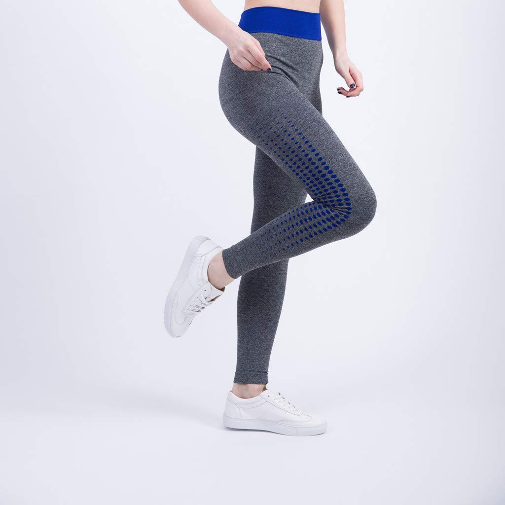 Mujer Pantalones Verano Mallas Mujer Fitness El/ásticos Mallas Moda Pantalones Color s/ólido Secado rapido Leggings Slim Fit Mayas Pantalones Largos Gym Yoga Cintura Alta Deportivos Pants vpass