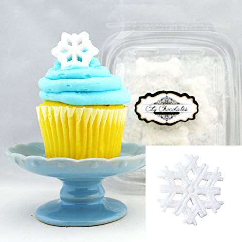 Edible Sugar Toppers/ 12 pack Snowflakes for $<!--$7.99-->