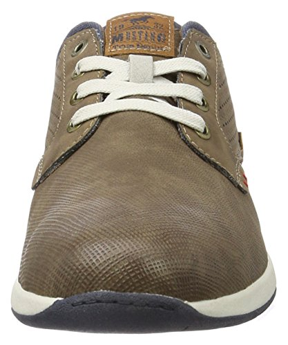 32 32 Sneakers Mustang Basses Marron 303 Dunkelbraun 4114 Homme ZF6x0wE6
