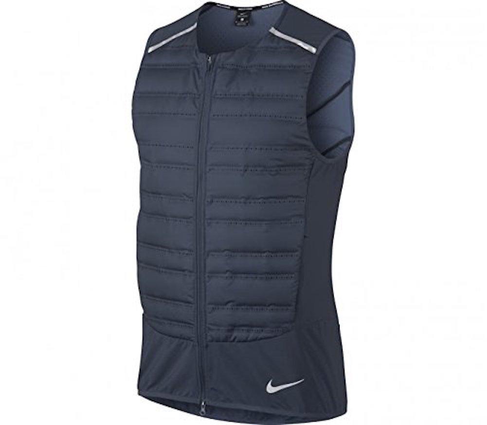 NIKE Men's AeroLoft Running Vest (M, Thunder Blue)