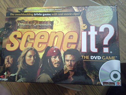 Disney Pirates of the Caribbean - Dead Men Tell No Tales - Scene It? - The DVD Game by Mattel