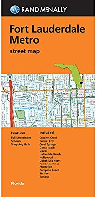 Fort Lauderdale On Map Of Florida.Rand Mcnally Folded Map Fort Lauderdale Metro Street Map Rand