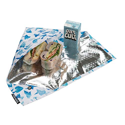 ood Wrap For Sandwich & Snack Bags & Placemat for Lunch, Eco Friendly Food Wraps, BPA-Free, Foodsaver, Bento Camping Picnic Hot & Cold Pouch (Animal Blue) ()