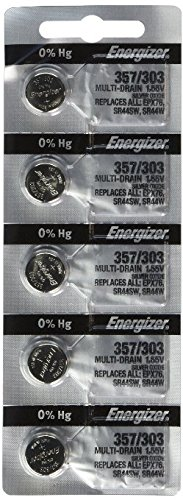 - 10 357 / 303 Energizer Batteries SR44SW SR44W LR44