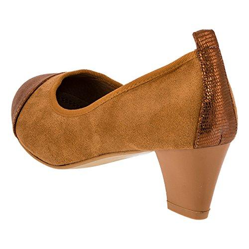 CinkMe Women's Court Shoes beige #238be Beige Qfw87w46Hl