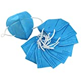 Harmony Life 100 pcs Non-Toxic Disposable Safety Mask Anti-dust Industrial Face Mask (100 pcs, Blue)