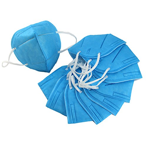 Harmony Life 100 pcs Non-Toxic Disposable Safety Mask Anti-dust Industrial Face Mask (100 pcs, Blue) by Harmony Life