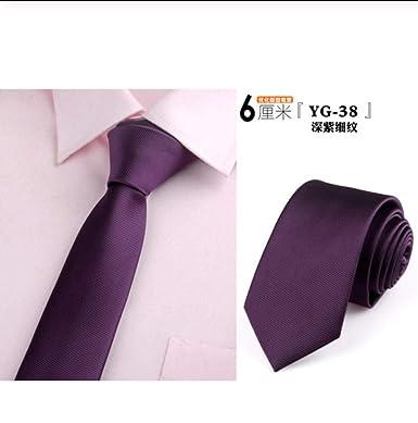 ALHZ Corbatas Para Hombres Corbata Delgada Vestido De Novia ...