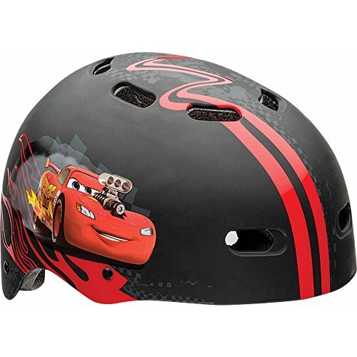Disney Cars Hard Outer Shell, Child Multisport Helmet, Red/Black Review
