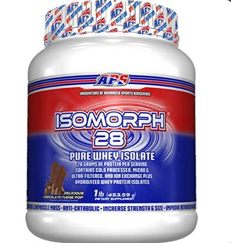IsoMorph Chocolate Fudge Pop (Aps Whey)