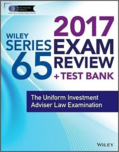 Wiley finra series 65 exam review 2017 the uniform investment wiley finra series 65 exam review 2017 the uniform investment adviser law examination 1st edition fandeluxe Image collections