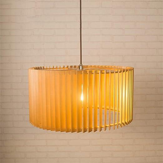 Lámpara Colgante Madera Lámpara de Techo Moderna Lámpara de Techo ...