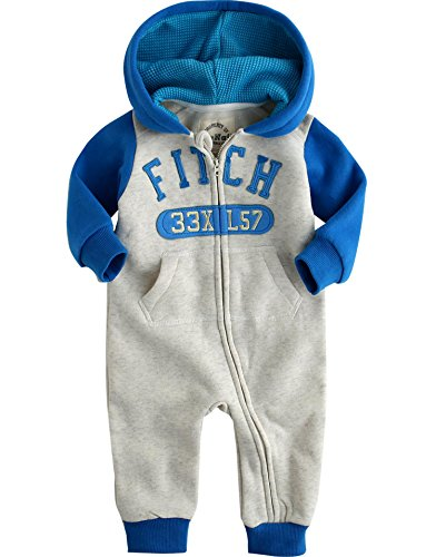 Vaenait Baby 6-24M Infant Boys Fleece Hoodie Jumpsuit Romper 33X