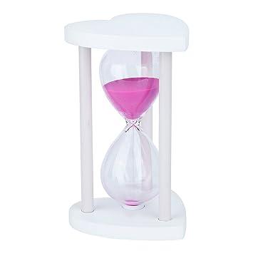 3 Mins Holzrahmen Sanduhr-Sand Glas Sanduhr Timer Uhr Dekoration Geschenke