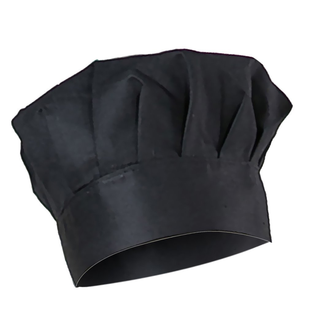 Uomo Donna Cappello Protezione Cappellini Uniforme da Cuoco Chef Cucina Ristorazione Hat da Lavoro
