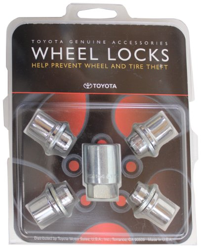 Rav4 Alloy Wheels - TOYOTA Genuine Accessories 00276-00900 Wheel Lock