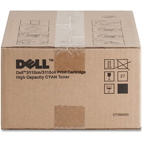 Dell PF029 Cyan Toner Cartridge 3110cn/3115cn Color Laser Printer (Color Dell Laser)