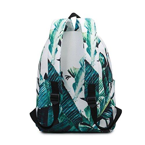 KYFW Beiläufiger Art-Segeltuch-Laptop-Rucksack-Schule-Beutel-Spielraum-Tagesbeutel-Handtasche,B-30*15*38cm-15-25L A-30*15*38cm-15-25L