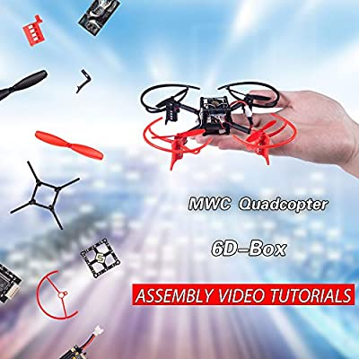 SunFounder 6D-Box MWC Multiwii Drone Quadcopter DIY Starter Kit ...