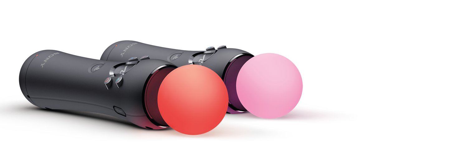 PlayStation Move Motion Controllers – Two Pack [Old Model]