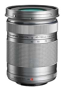 Olympus M.Zuiko Digital ED 40-150mm - Objetivo para Olympus (distancia focal 40-150mm, apertura f/4-22, zoom óptico 3.8x,diámetro: 58mm) color plateado