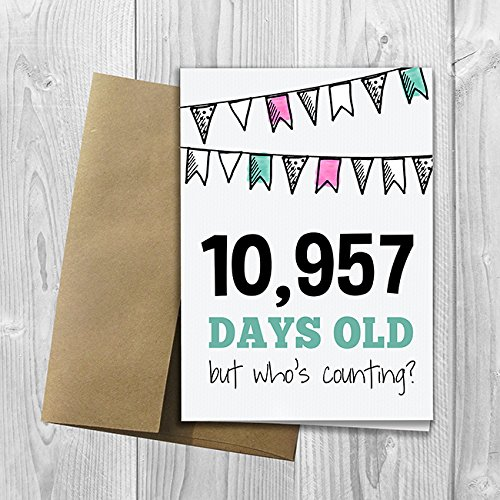 Amazon 10957 Days Old But Whos Counting 30th Birthday
