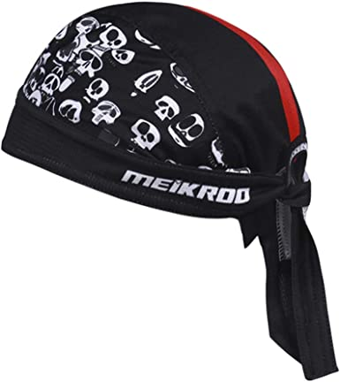 Cotton Skull Cap Head Wrap Cap Motorcycle Biker Hat Butterfly Print Bandana Gift
