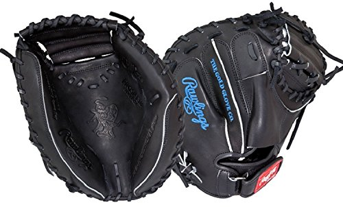 Rawlings Heart of The Hide Baseball Mitt, Salvador Perez Game Day Model, Regular, 1-Piece Solid Web, 32-1/2 - Baseball Catchers Model Mitt
