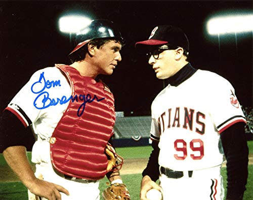 Tom Berenger Cleveland Indians Autographed Signed 8x10 Photo from Major League - Mound Visit with Wild Thing Charlie Sheen - Certified Authentic