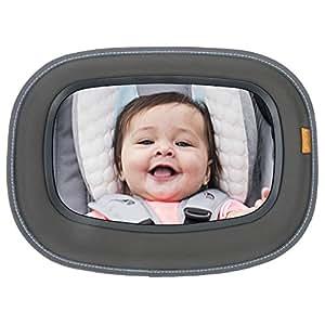 Brica espejo de carro beb a la vista para seguridad en el for Espejo seguridad bebe