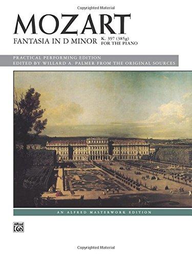 Fantasia in D minor, K. 397: Sheet (Alfred Masterwork Edition)