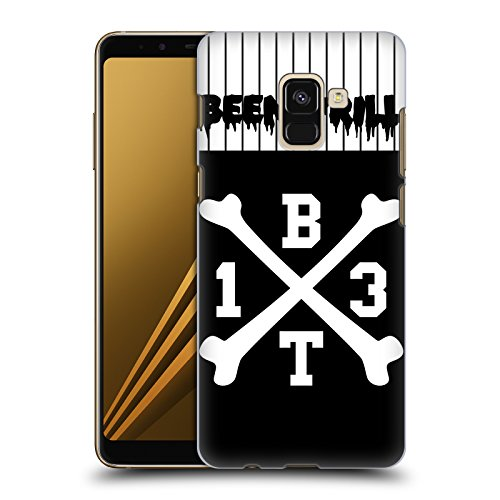 Jersey Crossbones Hc (Official Been Trill Crossbone Jersey Hard Back Case for Samsung Galaxy A8 (2018))