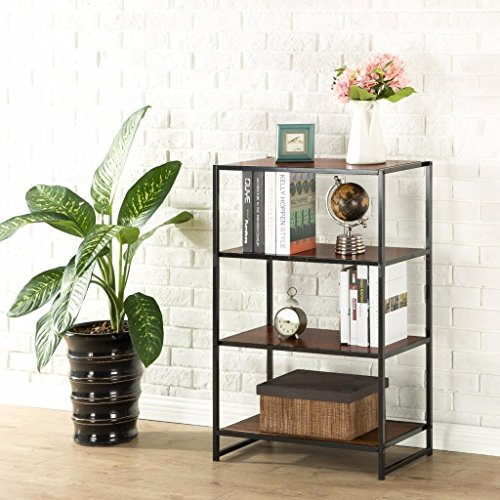 Zinus Modern Studio Collection 4-Shelf Multipurpose Bookcase Modern Collection