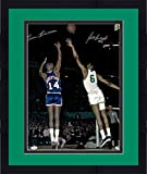 """Framed Oscar Robertson & Bill Russell Autographed 16"""" x 20"""" Action Photograph - Fanatics Authentic Certified"""