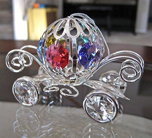 Cinderella Coach Ornament, w/ Swarovski Prisms
